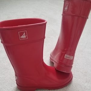 SPERRY top-sider rubber rain boots